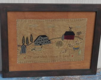 15% OFF! Wonderful Primitive Reproduction Quilted Sampler!