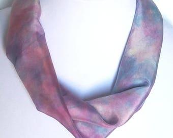 NK 49 - Handpainted Silk Necklace