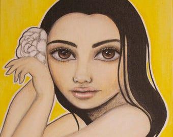 "Sunny 8""x10"" Fine Art Print"