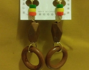 Handmade Custom Craft Unique Jewerly Wood Fine Ethnic Accesories Tribal