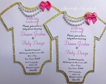 Baby Girl invitations, Baby Shower Invites, Its a girl