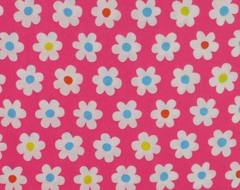 Pink Daisy Floral fabric from Sevenberry Fat Quarter
