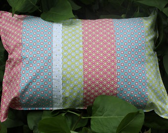 Patchwork Cushion cover Provence modern 35 x 50