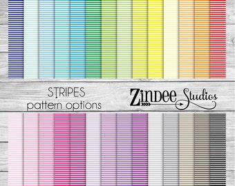 Stripes Pattern Vinyl HEAT TRANSFER or ADHESIVE, printed vinyl printed HTv printed adhesive vinyl permanent
