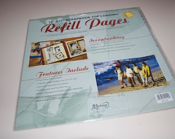 Refill Pages for Scrapbooking by Markings C. R. Gibson