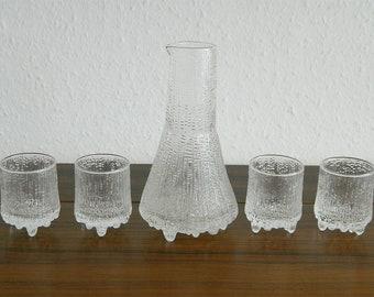 Iittala Finland Tapio Wirkkala Ultima Thule Glass Set