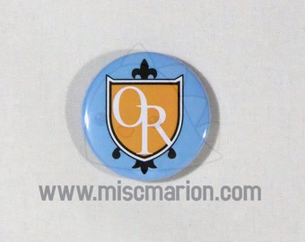 Ouran High Host Club Emblem Buttons, Magnets or Keychains 1.5 Inches Pin Back