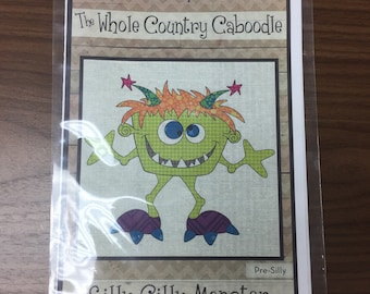 Silly Gilly Monster precut applique by The Whole Country Caboodle