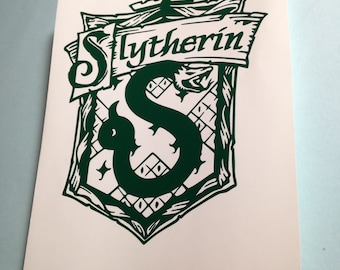 Slytherin Decal