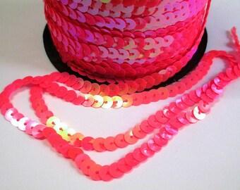 3 m tape stripe sequin pink 6mm
