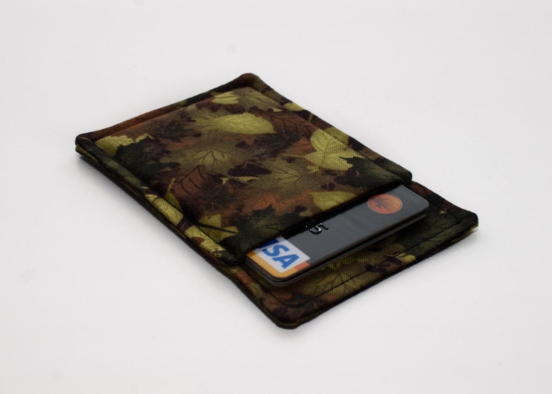Thin wallet Minimalist wallet Business card holder Business