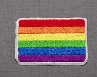 Pride Flag embroidered patch