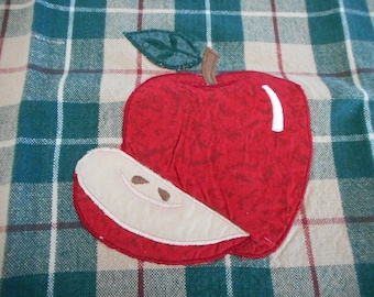 Set of Two Apple Tea Towels