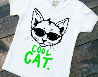 Cat shirt - crazy cat - Girls cat shirt - boys cat shirt - funny cat shirt - kid cat shirt - kids cat tee - cat graphic tee - TODDLER shirt