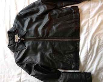 Giorgio Armani Jacket leather 70's