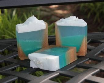 Under the Sea glycerin soap bar