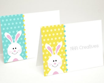Bunny Place Cards - DIY Printable Digital File