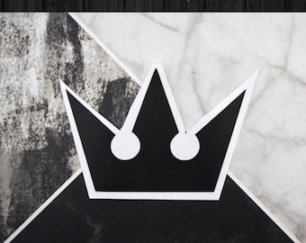 Kingdom Hearts - Crown Vinyl Decal Sticker