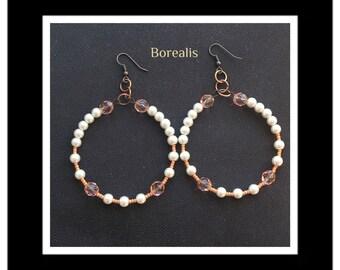 Bohemian Pearl Earrings
