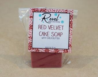 Red Velvet Cake Soap