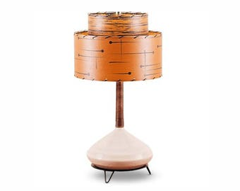 Handcrafted Retro Style Lamp and Shade 211