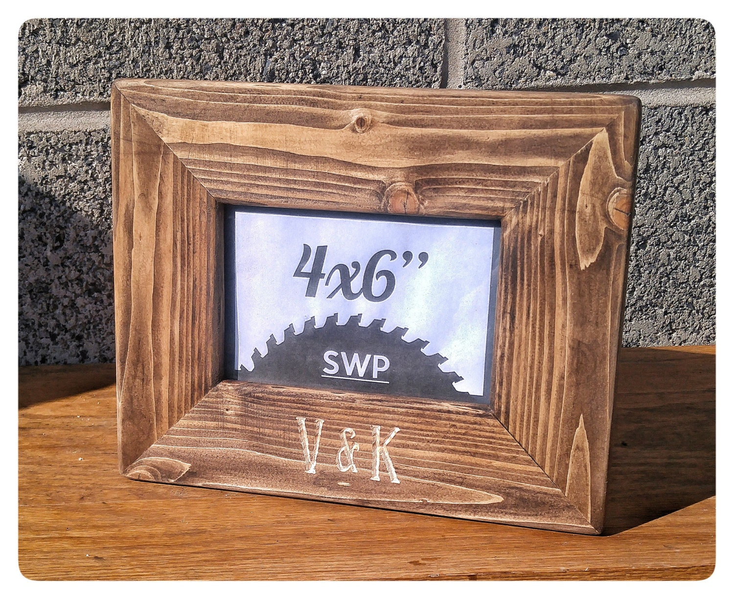 Personalized Frame, Wedding Frame, Wedding Gifts, Engraved Wood ...