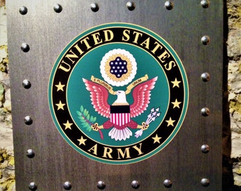 US Army Aluminum Sign