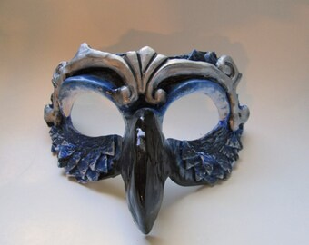 fantasy bird mask, Falcon, masquerade mask, costume mask, fantasy, guardian, creature mask, Hawk, Halloween mask
