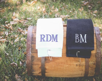 Monogram Golf Towel | Golf Gift | Monogrammed Towel | Grommeted Golf Towel | Tri Fold Golf | Personalized Gift for Men | Father's Day