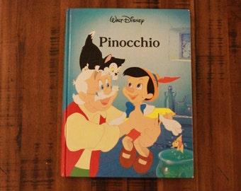 Pinocchio / Disney Classic Series / Long Meadow Press /  Twin Books 1986