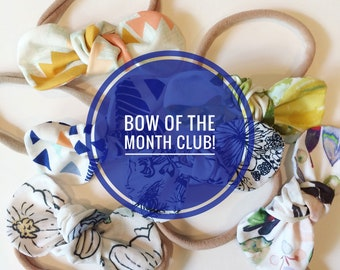 Bow of the month club!
