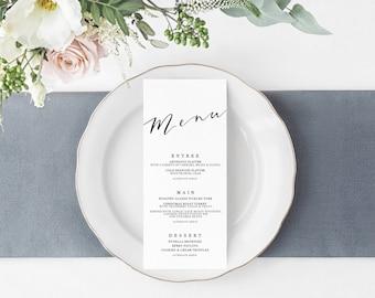 Add On   Menu   Wedding Event Invitation Suite   Printable Digital File Printed Invite Invitations Stationery