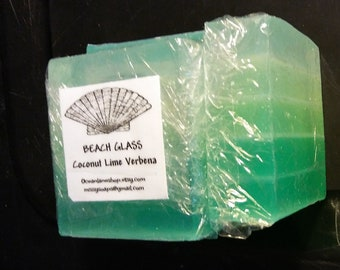 Beach Glass Glycerin Soap. Take a dip in a clean cool scent!