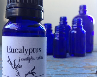 Eucalyptus Essential Oil - Organic - Aromatherapy - Essential Oil - Essential Oils