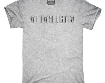Australia Upside Down T-Shirt, Hoodie, Tank Top, Gifts