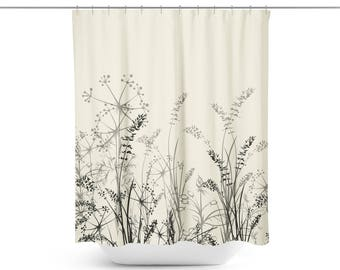 Farmhouse Shower Curtain | Farmhouse Bath Curtain | Farmhouse Bath Décor | Farmhouse Bathroom Décor | Farmhouse Bathroom | Farmhouse Shower