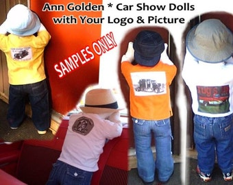 Time Out Doll for Your Car Truck and Cycle Show  SAMPLE pictures