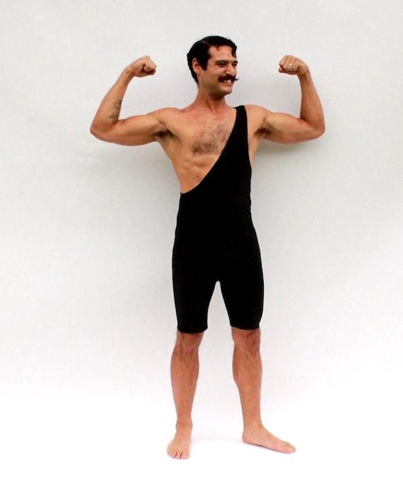 Strongman Costume Tarzan Wrestling Singlet Men's Animal Print P7VMdHaVa