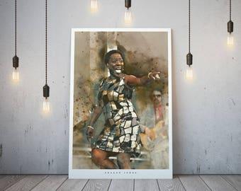 Sharon Jones Art Print and poster