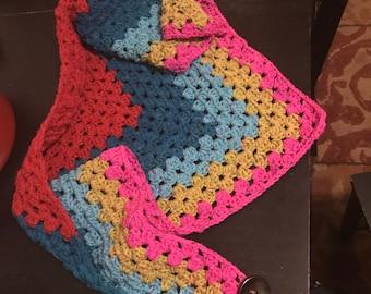 Crochet shawl/scarf ON SALE