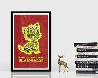 Big Bang Theory Quote Poster