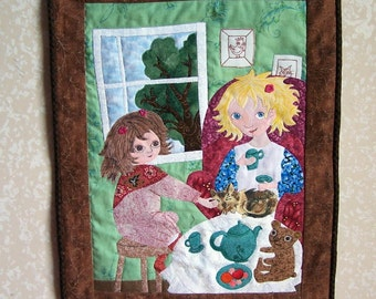 Custom Art Quilt