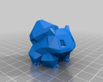 Bulbsaur 3d printed polygon