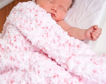 "Newborn Baby Blanket 10 Colors Soft Photography Prop Photo Prop Newborn Baby Girl Blanket Newborn Baby Boy Blanket Cotton Candy 33"" x 33"""