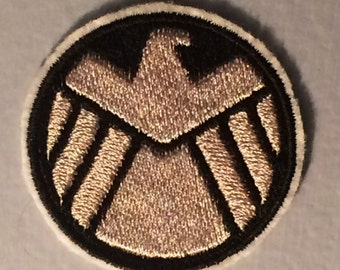 SHIELD Logo - Iron-on Embroidered Marvel Patch