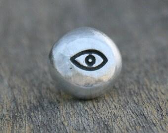Tie Tack - Lapel Pin - Eyeball