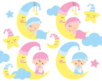 baby shower clip art etsy rh etsy com baby boy & girl clipart clipart baby bottle