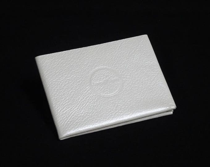 6Pocket Wallet - Genuine Kangaroo Leather Mens Womens Strong Slim Stitchless Card Leather Wallet RFID - White