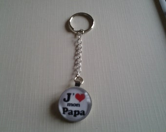 Keychain dad fathers day