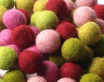 Collection - 60PC Piece MOD Felt Balls